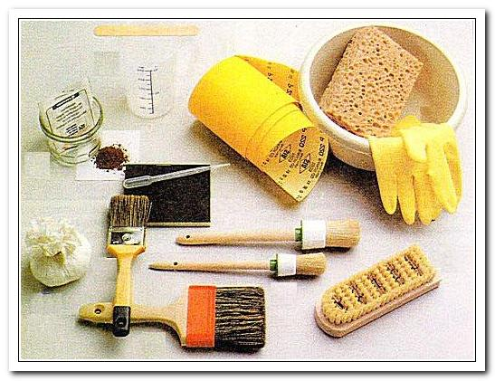 Инструменты отделки