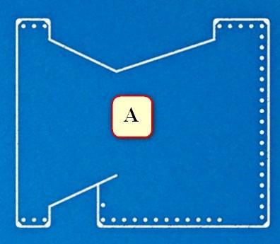 Деталь бумажника А