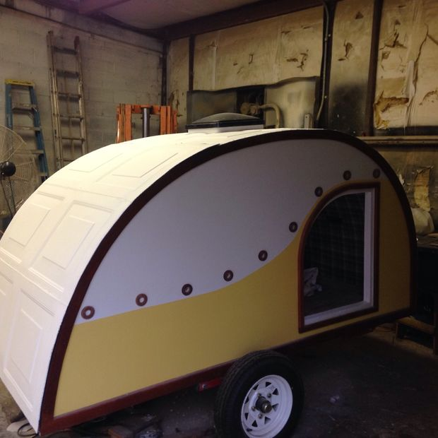 Haley's Teardrop Camper