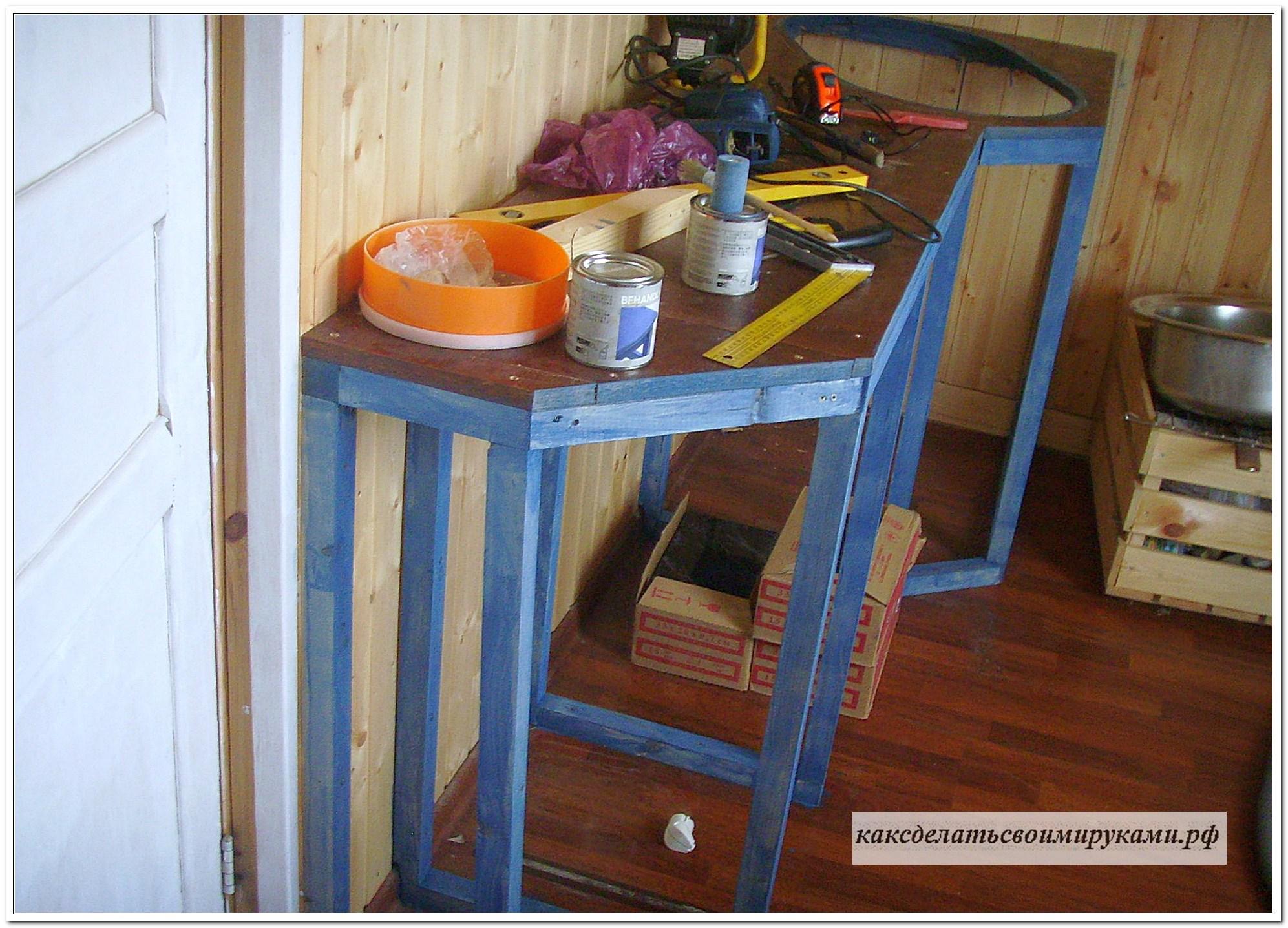 Как сделать каркас под столешницу
