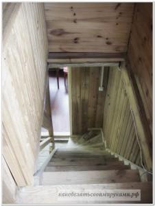 Лестница сверху