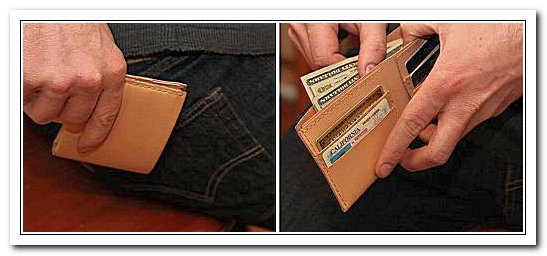 Новый бумажник