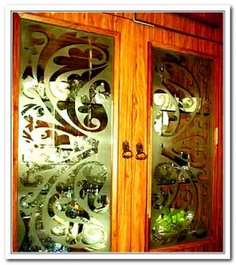 Дверцы буфета