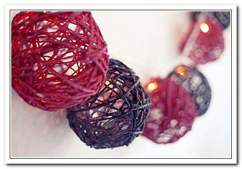 Гирлянда с шарами