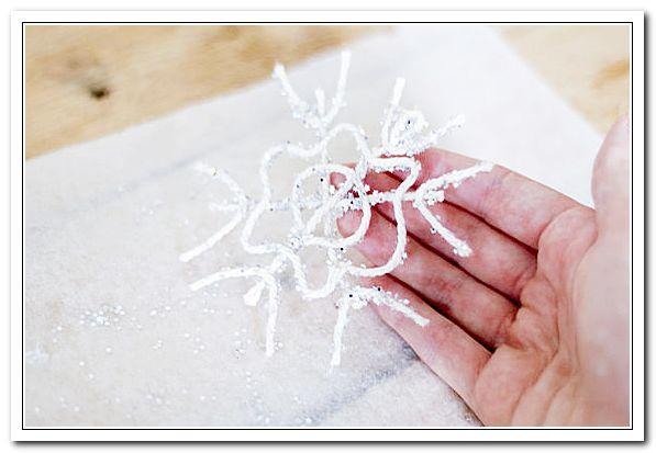Снежинка готова