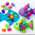 Радужные рыбки