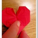 Сердечко в технике оригами