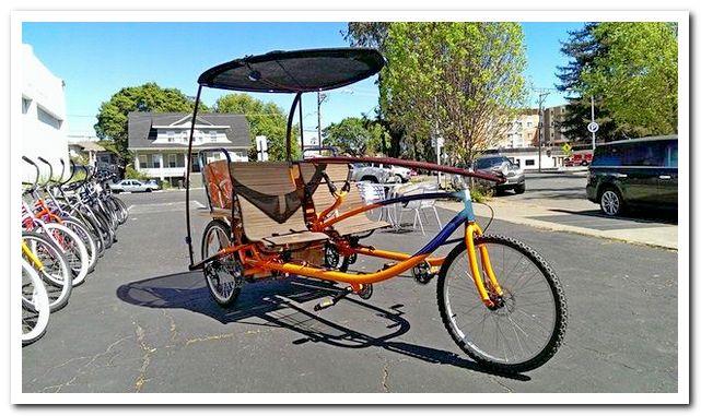 Тандемный велосипед