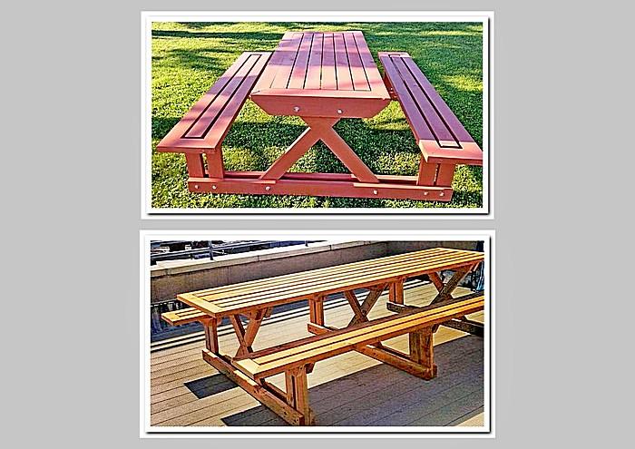 Подобные варианты столов