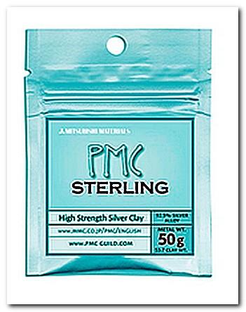 Серебряная глина PMC Sterling