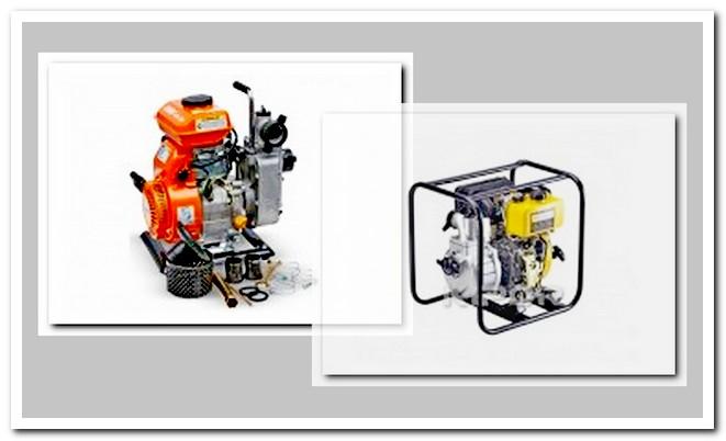 Мотопомпа бензиновая и дизельная