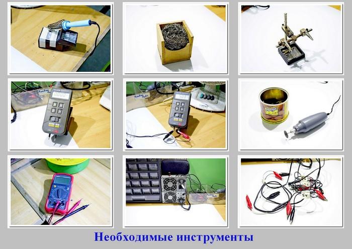 Инструменты для стола