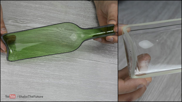 How to Cut Bottles in Half (Lengthwise)