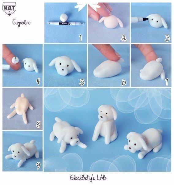 Как сделать щенка своими руками