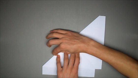 How to Fold an Origami F-15 Paper Airplane