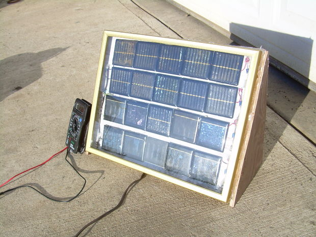 Recycled Solar Power