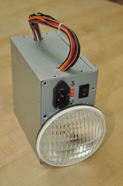 Hack-A-Lantern: Recycled Computer Power Supply Flashlight