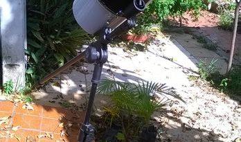 Ньютоновский  телескоп из того, что под рукой. Или как сделать телескоп своими руками.