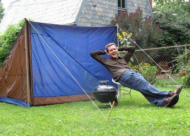 Своими руками сделать палатку 100