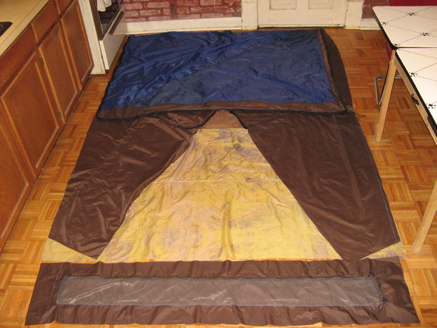 The Near-Perfect Tent: Design and Build a Recycled Tent