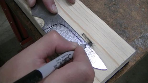 Saw Blade Knife