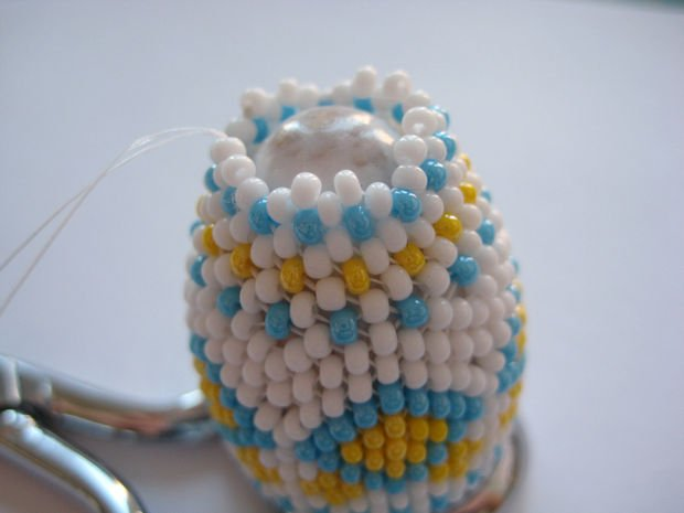 Using Beads and Geometry to Decorate Eggs