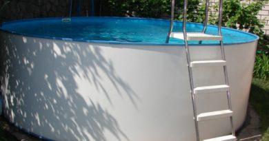 Каркасный бассейн на загородном участке своими руками